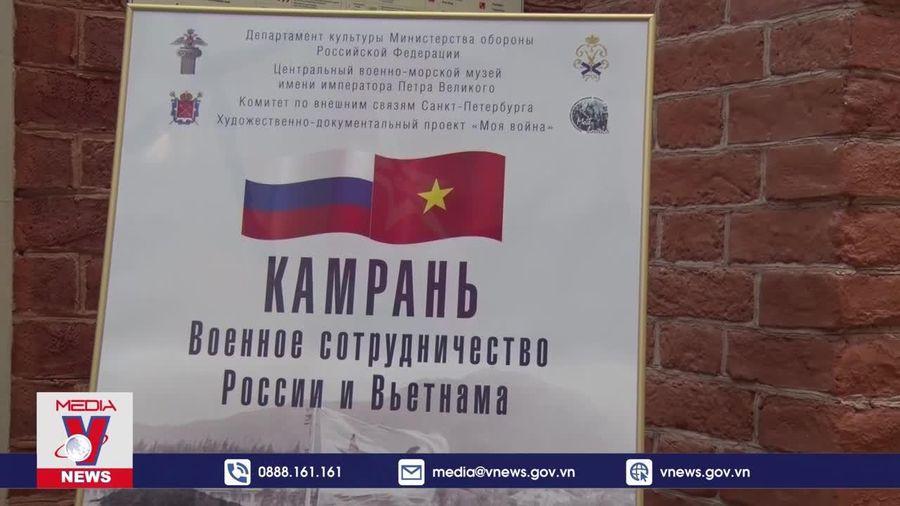 Triển lãm 'Cam Ranh: Hợp tác quân sự Việt Nam – Liên bang Nga'