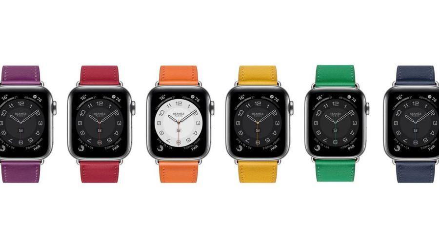 Lóa mắt trước những màu sắc mới mẻ và thiết kế khác biệt của Apple Watch Hermès Series 6
