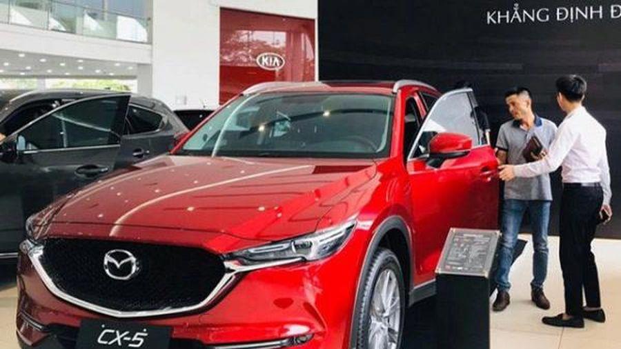 Phân khúc CUV tháng 8: Mazda CX-5 giành lại vị trí đầu bảng từ tay Hyundai Tucson