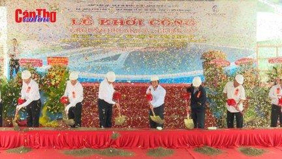 Khởi công xây dựng cầu Trần Hoàng Na
