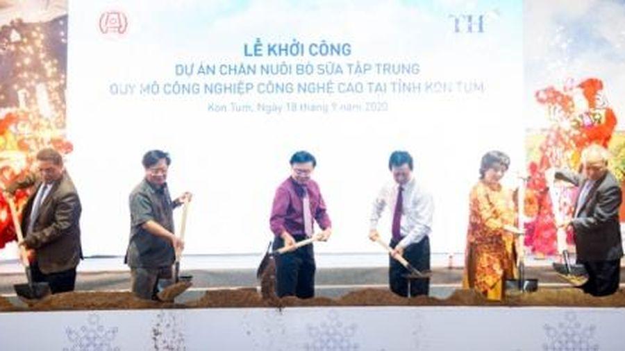 Khởi công dự án chăn nuôi bò sữa công nghệ cao tại Kon Tum hơn 2.500 tỷ đồng