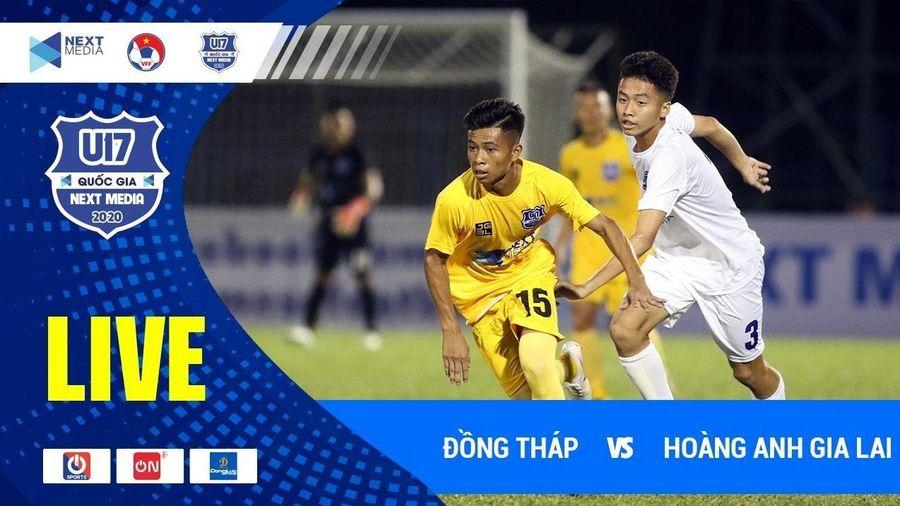 Trực tiếp Thanh Hóa vs HAGL, bảng A vòng chung kết U17 Quốc gia 2020