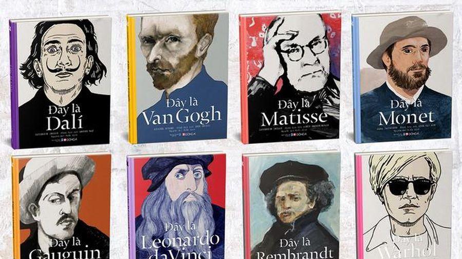 'Đây là', bộ sách kể chuyện 8 danh họa thế giới