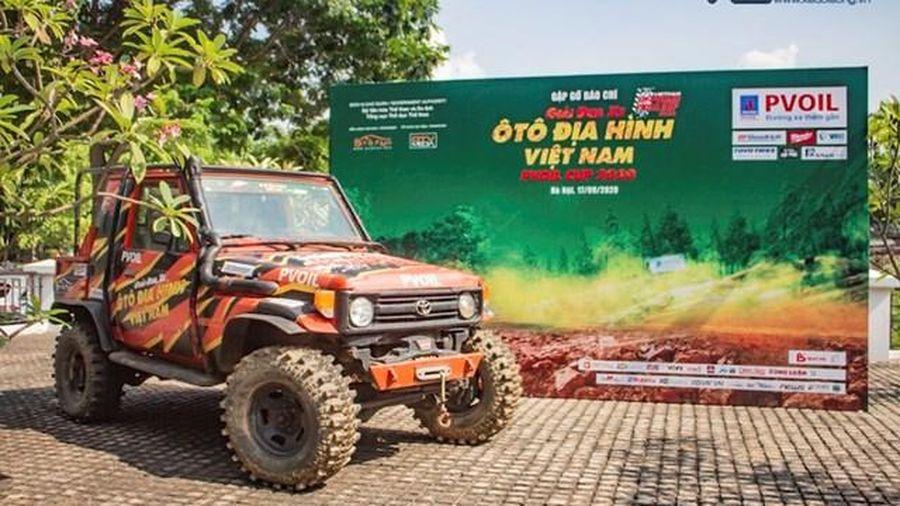 160 vận động viên tham gia giải đua xe ô tô địa hình Việt Nam 2020