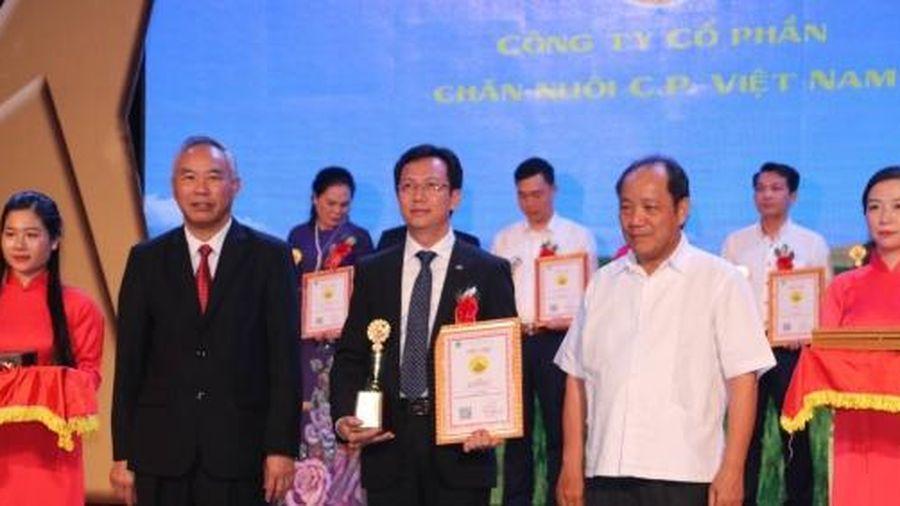 Thương hiệu Vàng Nông nghiệp Việt Nam 2020 vinh danh 80 sản phẩm