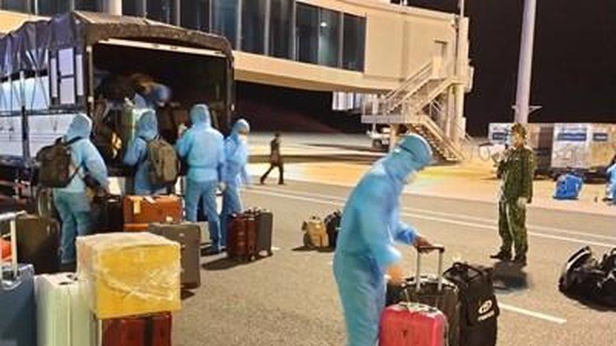 Khánh Hòa đón 355 người trở về từ Nhật Bản và thực hiện cách ly theo quy định