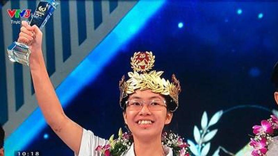 Nguyễn Thị Thu Hằng vô địch Đường lên đỉnh Olympia 2020