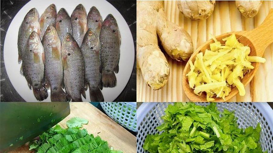 Chế biến các món ngon từ cá rô đồng ngọt thịt mùa mưa