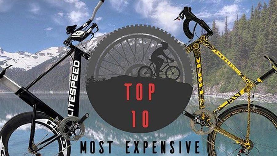 Những chiếc xe đạp đắt hơn cả xe ôtô hạng sang