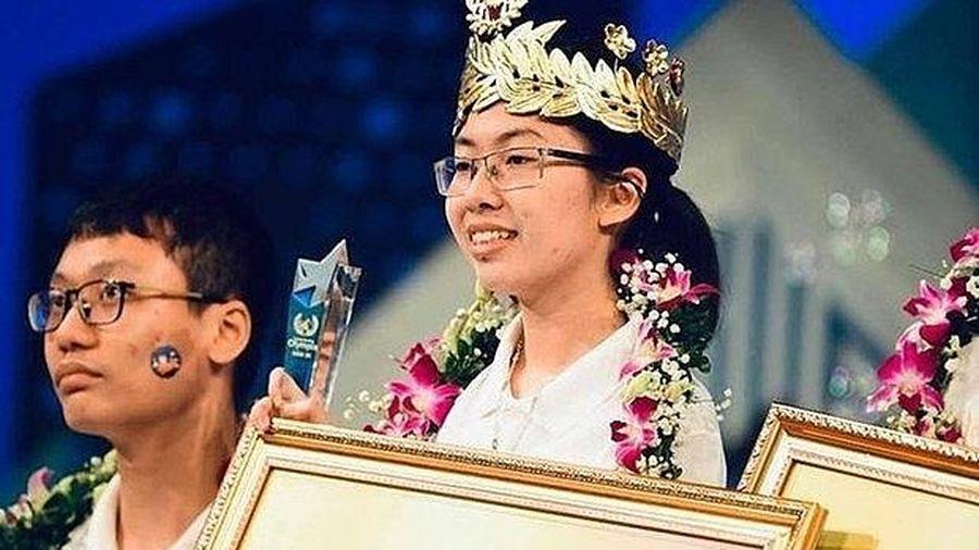 Nữ sinh Ninh Bình vô địch Đường lên đỉnh Olympia năm 2020