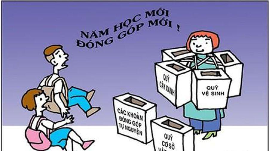 Hà Nội yêu cầu công bố đường dây nóng để phụ huynh tố lạm thu