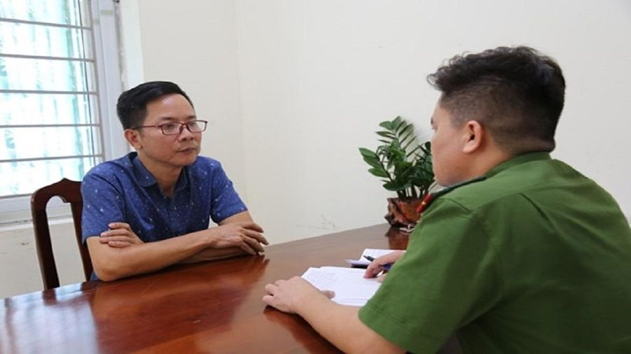 Lời khai của Phó ban Tuyên giáo Huyện ủy Tam Đảo bị khởi tố tội vu khống