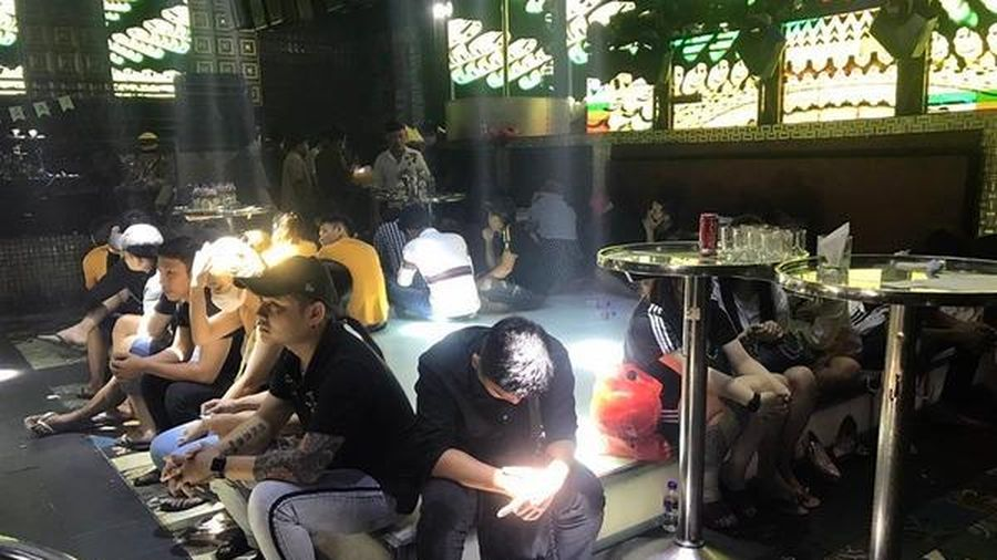 102 người dương tính ma túy trong bar New Club