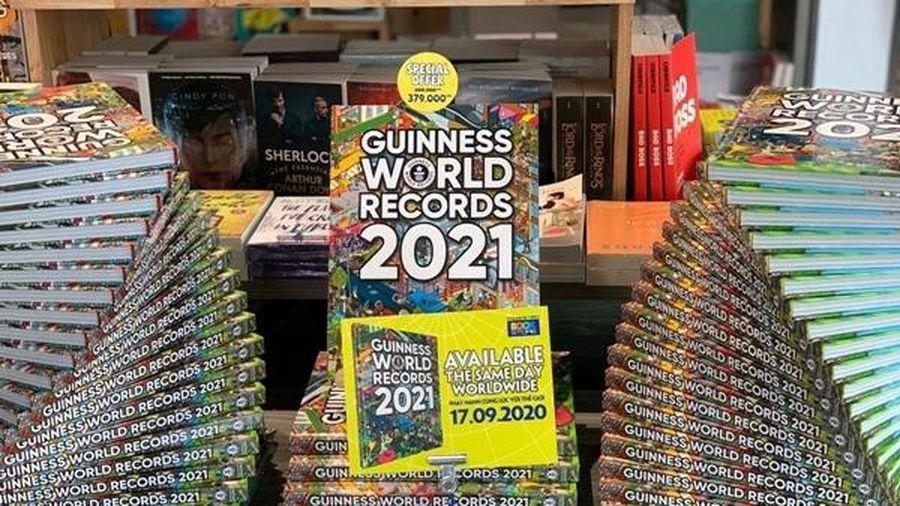 Trải nghiệm và khám phá các kỷ lục Guinness thế giới qua sách