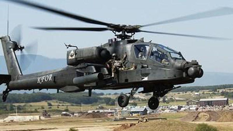 Mỹ điều thiết giáp 'hổ thép' và trực thăng tấn công đối phó với Nga ở đông bắc Syria