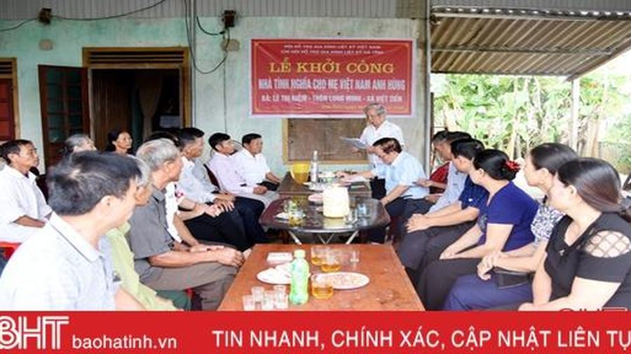 Khởi công sửa chữa nhà thờ Mẹ Việt Nam anh hùng Lê Thị Niệm