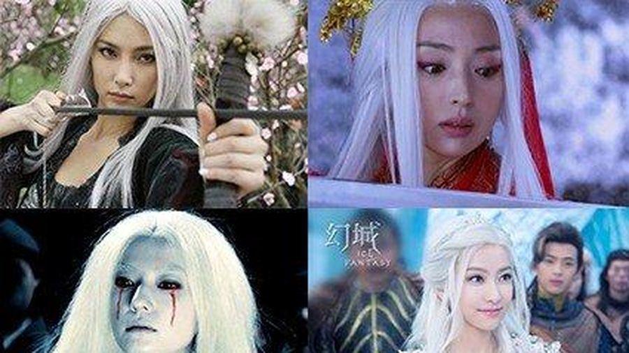 Loạt mỹ nhân Hoa ngữ đọ độ quyến rũ trong tạo hình tóc trắng