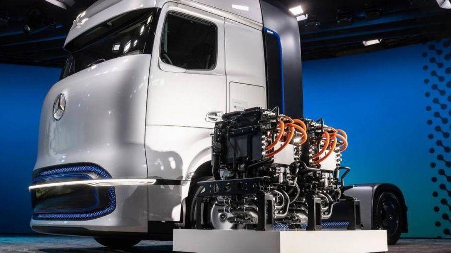 Mercedes-Benz ra mắt thế hệ đầu kéo mới dùng hydro lỏng