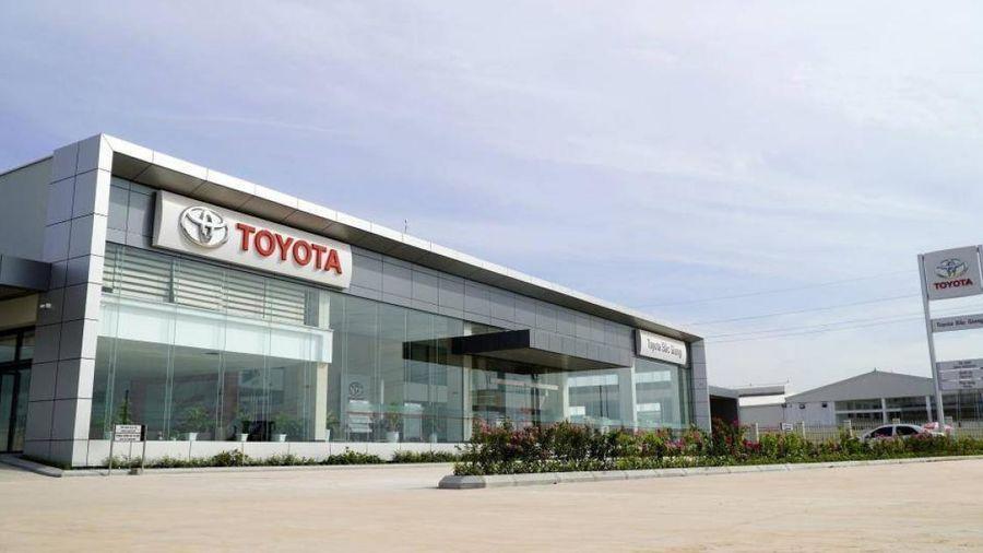 Hệ thống đại lý của Toyota Việt Nam được Vietcombank tài trợ vốn