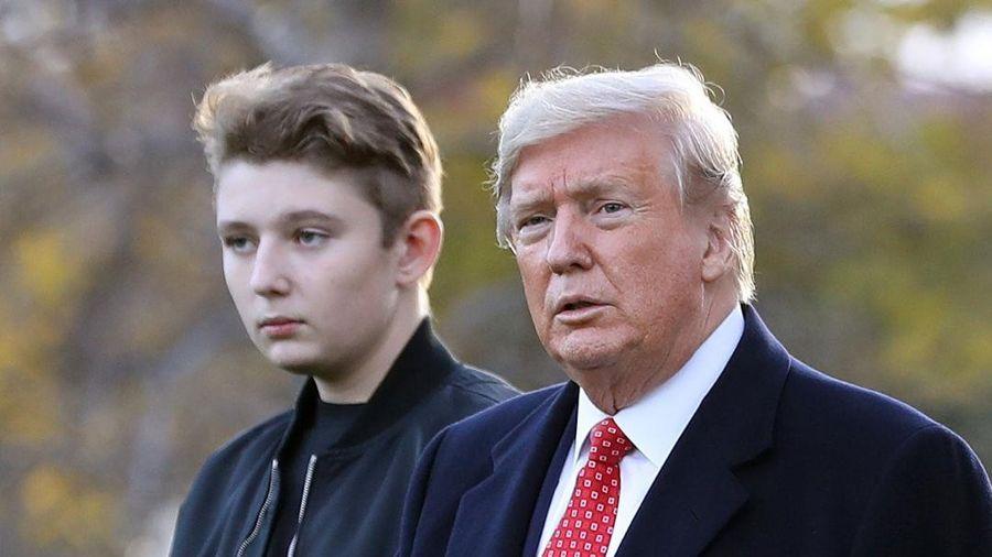 Cậu ấm nhà Trump đam mê bóng đá từ tấm bé