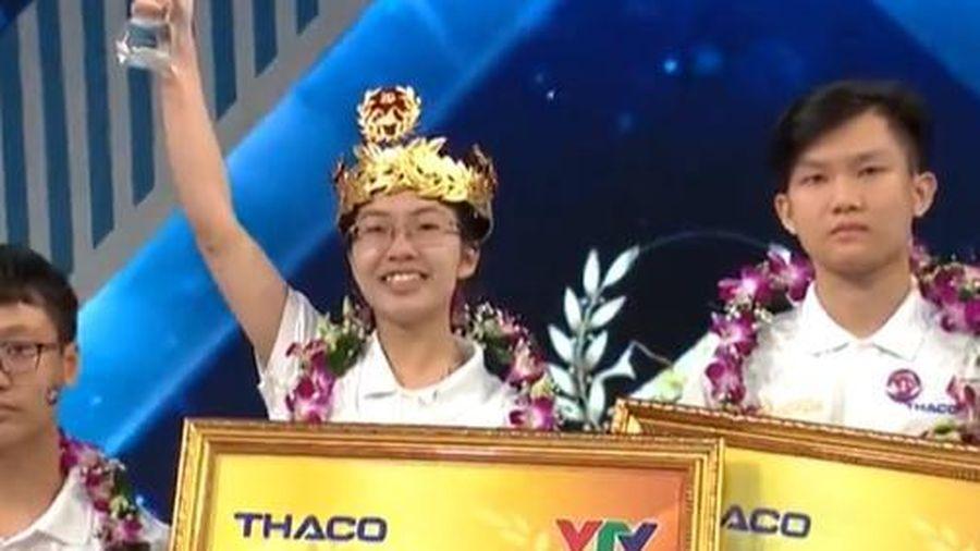 Nữ sinh đến từ Ninh Bình xuất sắc trở thành Quán quân của Đường lên đỉnh Olympia năm thứ 20