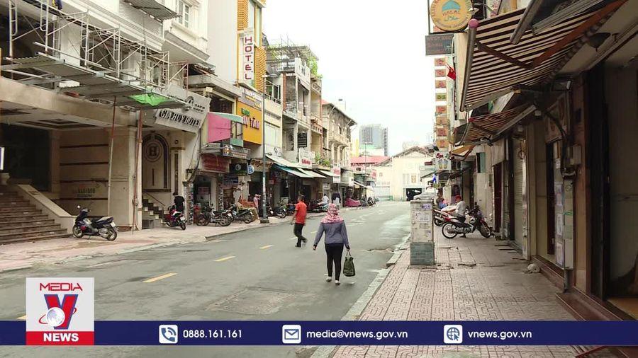 Đìu hiu chợ ngoại Sài Gòn