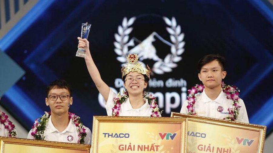 Nguyễn Thị Thu Hằng - thí sinh nữ vô địch Olympia 2020
