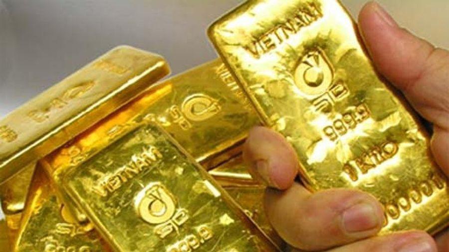 Giá vàng hôm nay ngày 20/9: Giảm nhẹ, vàng neo giá ở mức cao