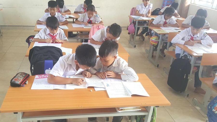 Năm học đầu tiên ở xã Quảng Tân mới