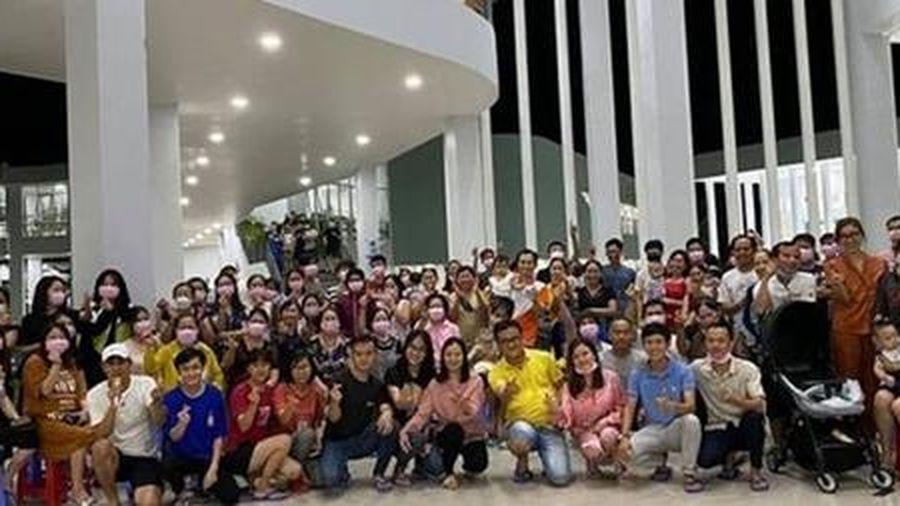 Hơn 400 người về từ Hàn Quốc hoàn thành cách ly tập trung