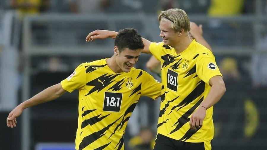 Haaland lập cú đúp, Dortmund thắng đậm trận mở màn