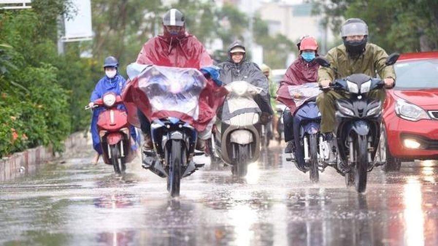 Dự báo thời tiết 21/9, Bắc Bộ nhiều nơi mưa rào