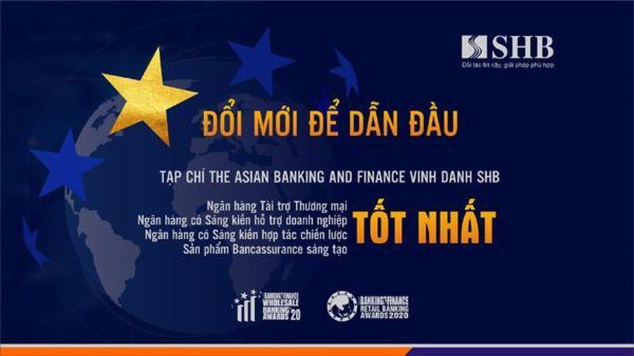 ABF vinh danh SHB 4 giải thưởng quốc tế danh giá