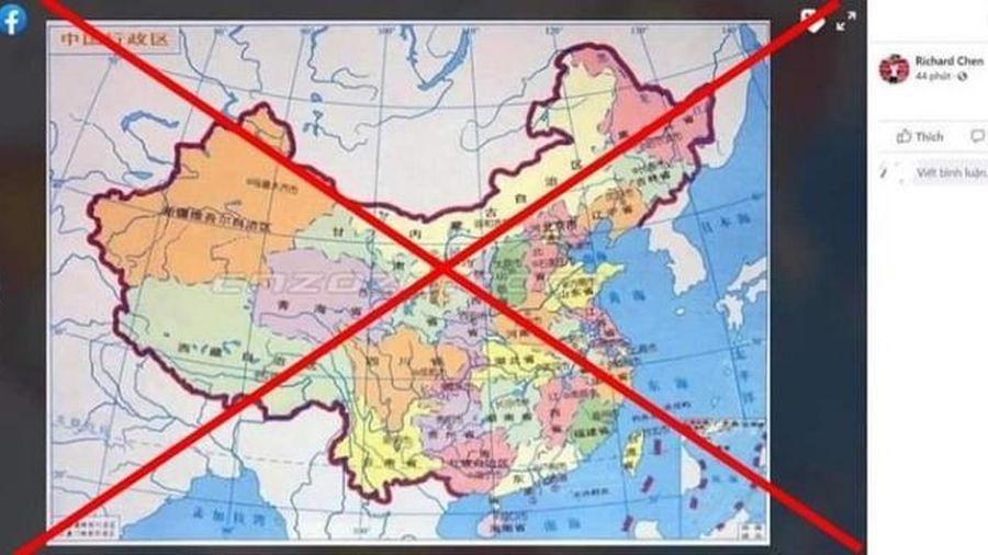 Hải Phòng: Phạt chủ tài khoản Facebook đăng bản đồ Việt Nam sai chủ quyền