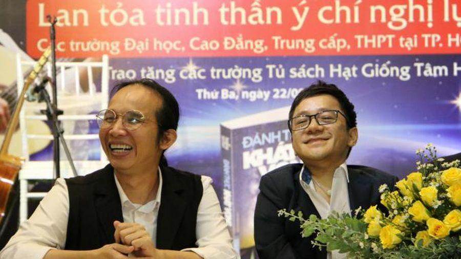Hai diễn giả 'đánh thức khát vọng' cho giới trẻ đô thị