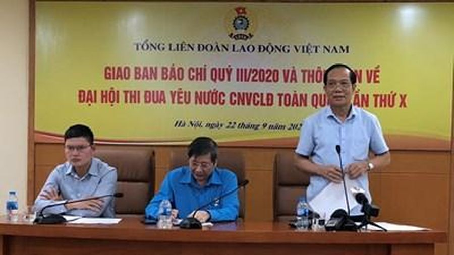 464 đại biểu tham dự Đại hội Thi đua yêu nước công nhân, viên chức, lao động toàn quốc lần thứ X