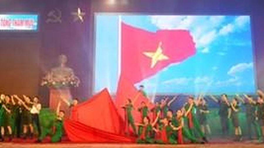 Liên hoan văn nghệ quần chúng và tuyên truyền ca khúc cách mạng cụm 1 Bộ Tổng Tham mưu