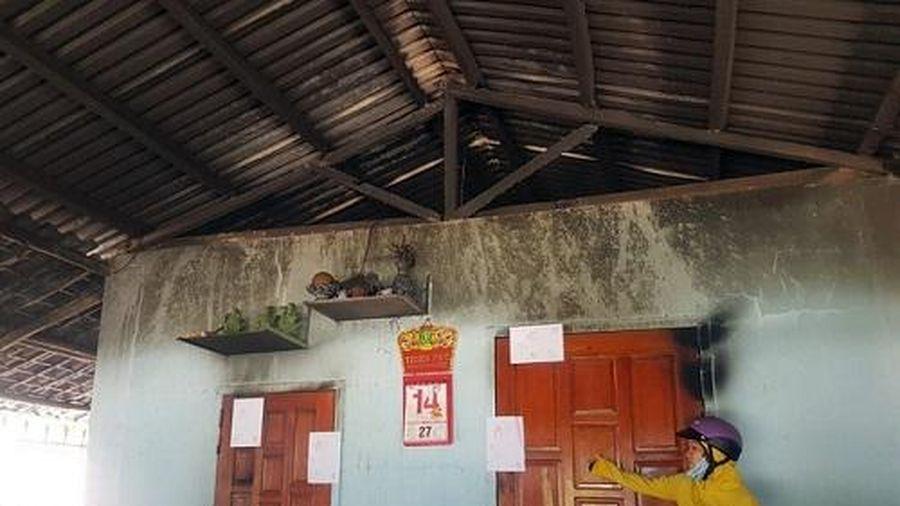 Cháy nhà ở Phú Yên, 4 người trong một gia đình bỏng nặng