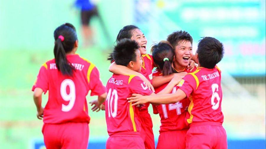 Khai mạc bóng đá nữ VĐQG-Cúp Thái Sơn Bắc 2020