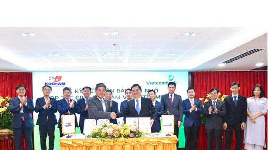 Vietcombank ký biên bản ghi nhớ hợp tác với Kocham