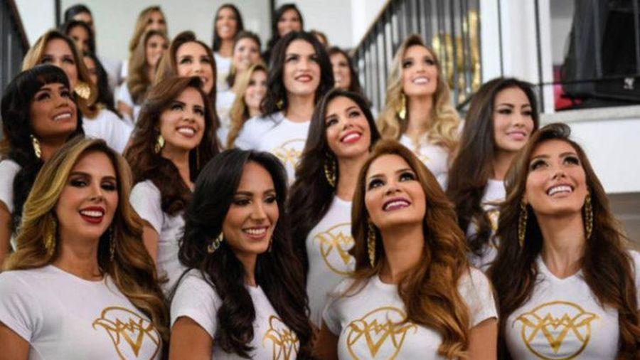 Người đẹp Venezuela ganh đua nhan sắc trong mùa dịch bệnh