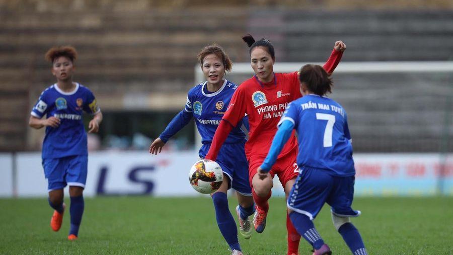 Kịch tính ở trận đấu mở màn giải bóng đá nữ Vô địch Quốc gia 2020