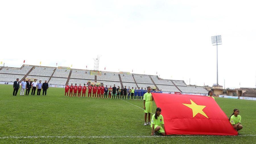Khai mạc lượt đi Giải Bóng đá nữ vô địch quốc gia - Cúp Thái Sơn Bắc 2020