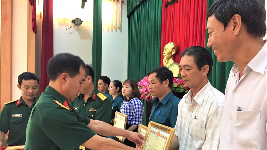 Hội thi cán bộ giảng dạy chính trị giỏi trong lực lượng vũ trang huyện Châu Đức
