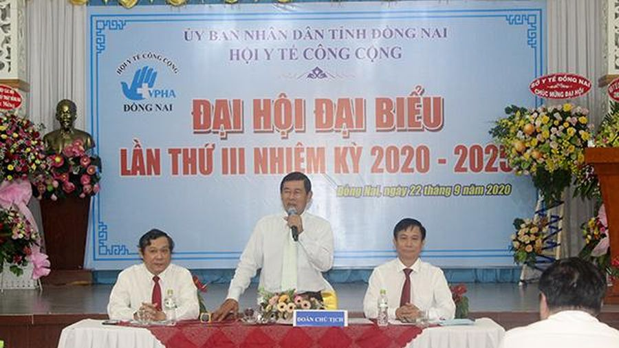 Ông Huỳnh Cao Hải tái đắc cử Chủ tịch Hội Y tế công cộng tỉnh