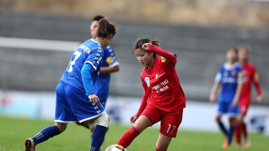 Vòng 1 giải bóng đá nữ VĐQG: Thái Nguyên T&T suýt thắng Phong Phú Hà Nam