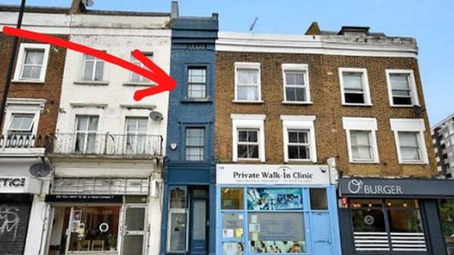 Ngôi nhà hẹp nhất London gây tranh cãi lớn khi rao bán với giá tận hơn 30 tỷ đồng, ai cũng tò mò liệu bên trong chứa 'kho báu' gì không