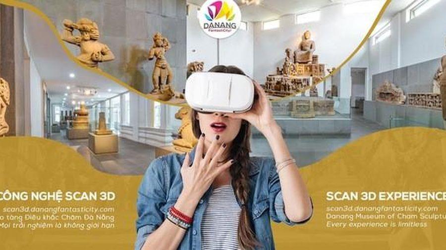 Thí điểm trải nghiệm Scan 3D tại Bảo tàng Điêu khắc Chăm Đà Nẵng