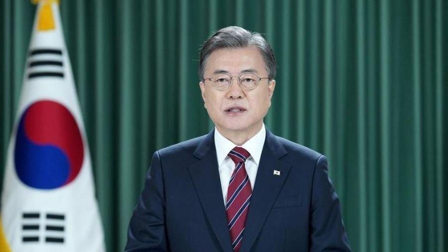 Họp ĐHĐ LHQ: Ông Moon kêu gọi chấm dứt chiến tranh Triều Tiên