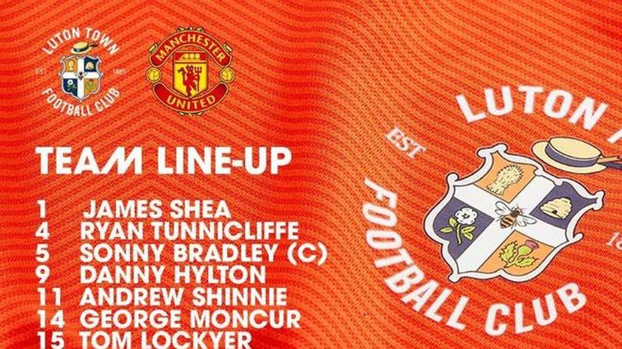 Luton Town 0-3 Man Utd: Greenwood, Rashford lập công